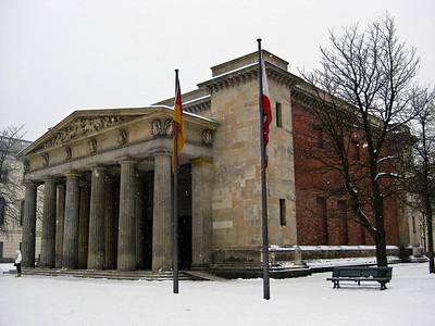 Neue Wache New Guard House Berlin Germany