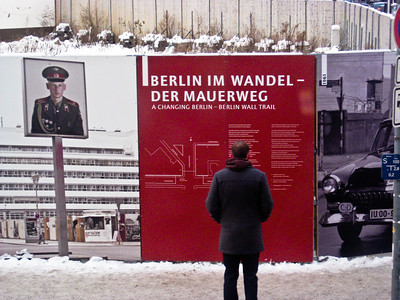 Der Mauerweg Berlin Wall Trail Berlin Germany