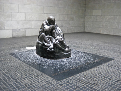 Mother with her Dead Son Neue Wache New Guard House Berlin Germany