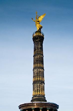 Siegessäule Victory Column Berlin Germany