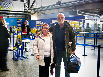 Lyn and Tony Stringer Bremen Germany