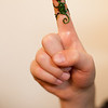 My son had a gecko put on his finger. Love it!
