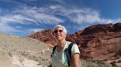 Self Portrait Red Rock Canyon 2014