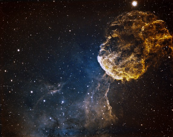 Ginny's Final Shot with the VSD! JellyFish Nebula.
