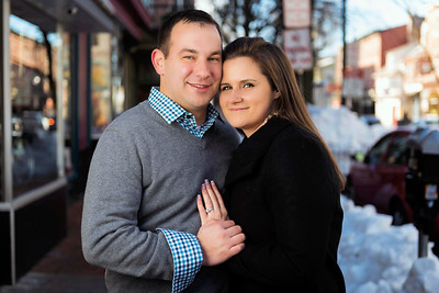 Brianna and Brian Engagement by Gino Guarnere Photography