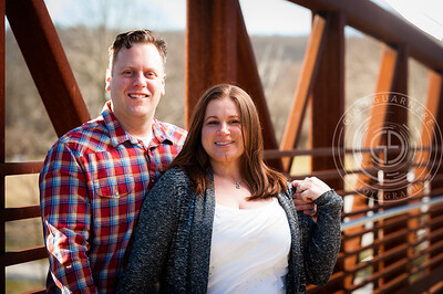 Colleen and John Engagement by Gino Guarnere