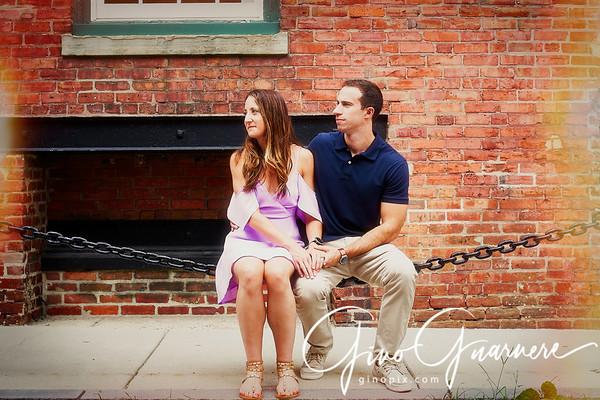 Sam and Bryan Engagement, Old City Philadelphia
