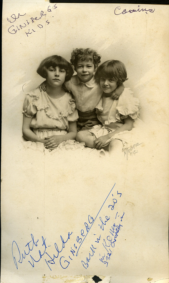 Ruth, Nat, Hilda Ginsberg