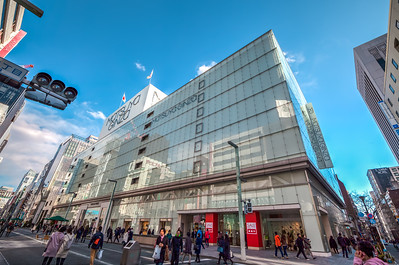 Ginza at weekend