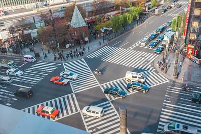 Ginza Sukiyabashi Crossing
