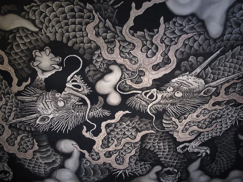 Koizumi Junsaku  twin dragons masterpiece