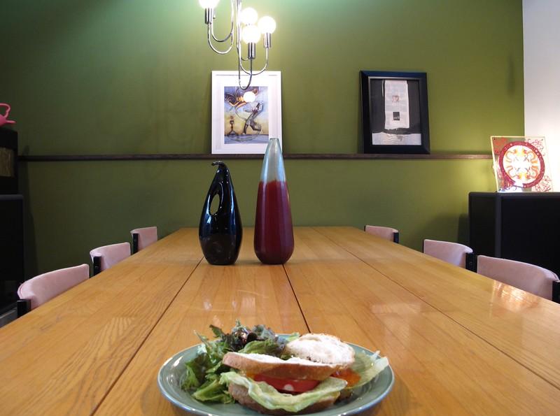 Inside Café Opal