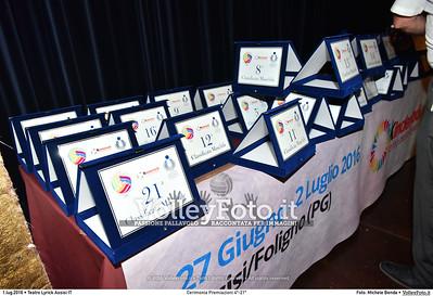 Cerimonia Premiazioni 4º-21º
