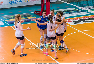 Emilia Romagna - Umbria [F] • Trofeo delle Regioni 2016