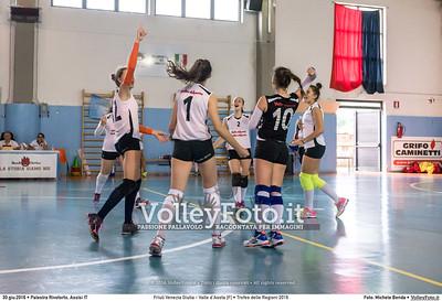 Friuli Venezia Giulia - Valle d'Aosta [F] • Trofeo delle Regioni 2016