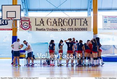 Lazio-Liguria [F] • Trofeo delle Regioni 2016