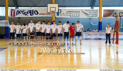 Lombardia - Liguria [M] • Trofeo delle Regioni 2016