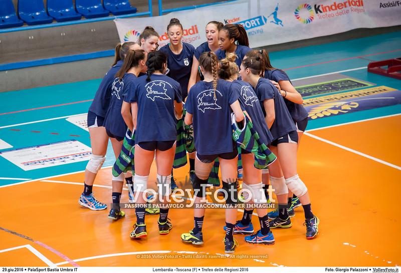 Lombardia -Toscana [F] • Trofeo delle Regioni 2016
