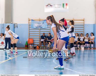 Molise - Friuli Venezia Giulia [F] • Trofeo delle Regioni 2016