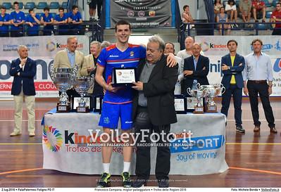 Francesco Campana,  Puglia, Miglior palleggiatore