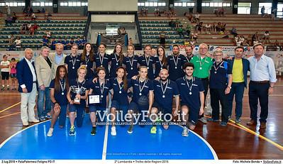 2ª classificata, Lombardia