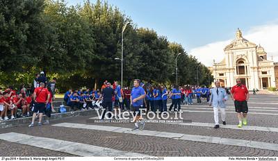 Cerimonia di apertura #TDRvolley2016