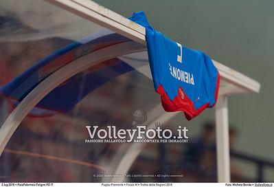 Puglia-Piemonte • Finale M • Trofeo delle Regioni 2016