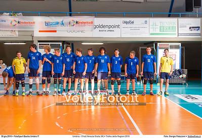 Umbria - Friuli Venezia Giulia [M] • Trofeo delle Regioni 2016