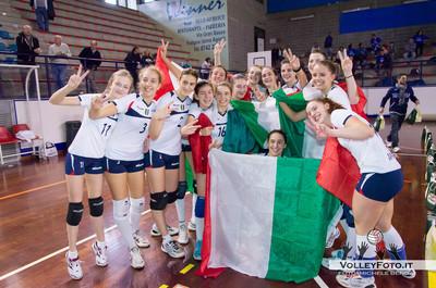 Amatori Atletica Orago VA, Campionesse Italiane 2013 Finale Campionato Italiano Volley Femminile Under 14, Foligno PG, 25 Maggio 2013