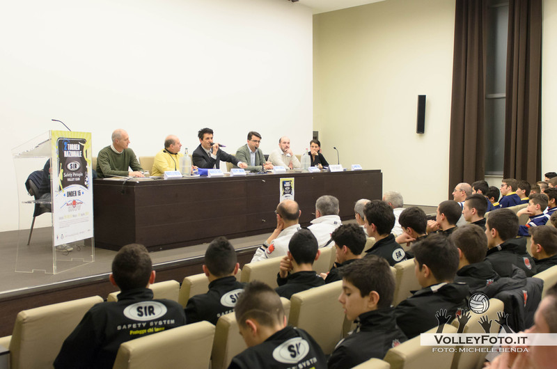 Presentazione Torneo Nazionale Under 15 Maschile SIR Safety Perugia