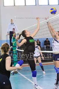 """Volley 4 strade Rieti - Mesagne Volley   5º Torneo Nazionale Pallavolo Under 16 Femminile """"Edil Rossi per lo sport"""" Memorial """"Tomasso Sulpizi"""" - Seconda fase: quarti e semifinali (id: 2013.12.28._MBD9299)"""