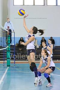 """Volley 4 strade Rieti - Mesagne Volley   5º Torneo Nazionale Pallavolo Under 16 Femminile """"Edil Rossi per lo sport"""" Memorial """"Tomasso Sulpizi"""" - Seconda fase: quarti e semifinali (id: 2013.12.28._MBD9319)"""