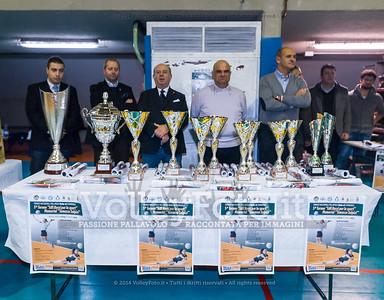 """5º Torneo Nazionale Pallavolo Under 16 Femminile """"Edil Rossi per lo sport"""" Memorial """"Tomasso Sulpizi"""" - PREMIAZIONI (id: 2013.12.29._MBE0286)"""