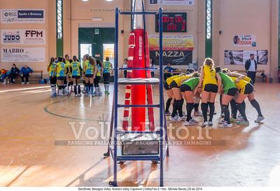 Semifinale, Mesagne Volley, Nottolini Volley Capannori