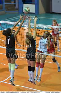 School Volley Bastia - I' Giglio Castelfiorentino 7º Trofeo Nazionale Under 16 Femminile - 5º Memorial Tomasso Sulpizi.  PalaGiontella Bastia Umbra PG, 28 Dicembre 2015. FOTO: Michele Benda © 2015 Volleyfoto.it, all rights reserved [id:20151228.MB2_1726]