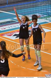 School Volley Bastia - I' Giglio Castelfiorentino 7º Trofeo Nazionale Under 16 Femminile - 5º Memorial Tomasso Sulpizi.  PalaGiontella Bastia Umbra PG, 28 Dicembre 2015. FOTO: Michele Benda © 2015 Volleyfoto.it, all rights reserved [id:20151228.MB2_1728]
