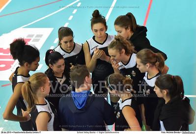 School Volley Bastia - I' Giglio Castelfiorentino 7º Trofeo Nazionale Under 16 Femminile - 5º Memorial Tomasso Sulpizi.  PalaGiontella Bastia Umbra PG, 28 Dicembre 2015. FOTO: Michele Benda © 2015 Volleyfoto.it, all rights reserved [id:20151228.MB2_1660]