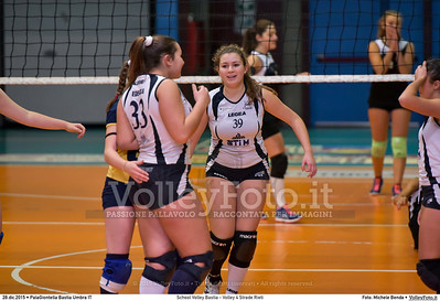 School Volley Bastia - Volley 4 Strade Rieti 7º Trofeo Nazionale Under 16 Femminile - 5º Memorial Tomasso Sulpizi.  PalaGiontella Bastia Umbra PG, 28 Dicembre 2015. FOTO: Michele Benda © 2015 Volleyfoto.it, all rights reserved [id:20151228.MB2_2261]