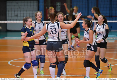 School Volley Bastia - Volley 4 Strade Rieti 7º Trofeo Nazionale Under 16 Femminile - 5º Memorial Tomasso Sulpizi.  PalaGiontella Bastia Umbra PG, 28 Dicembre 2015. FOTO: Michele Benda © 2015 Volleyfoto.it, all rights reserved [id:20151228.MB2_2250]