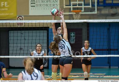 School Volley Bastia - Volley 4 Strade Rieti 7º Trofeo Nazionale Under 16 Femminile - 5º Memorial Tomasso Sulpizi.  PalaGiontella Bastia Umbra PG, 28 Dicembre 2015. FOTO: Michele Benda © 2015 Volleyfoto.it, all rights reserved [id:20151228.MB2_2247]