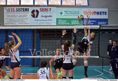 School Volley Bastia - Volley 4 Strade Rieti 7º Trofeo Nazionale Under 16 Femminile - 5º Memorial Tomasso Sulpizi.  PalaGiontella Bastia Umbra PG, 28 Dicembre 2015. FOTO: Michele Benda © 2015 Volleyfoto.it, all rights reserved [id:20151228.MB2_2252]