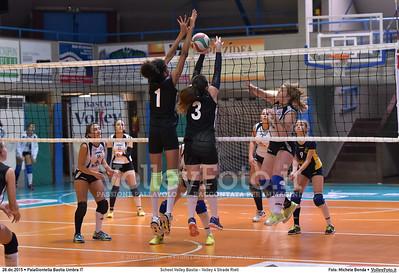 School Volley Bastia - Volley 4 Strade Rieti 7º Trofeo Nazionale Under 16 Femminile - 5º Memorial Tomasso Sulpizi.  PalaGiontella Bastia Umbra PG, 28 Dicembre 2015. FOTO: Michele Benda © 2015 Volleyfoto.it, all rights reserved [id:20151228.MB2_2281]