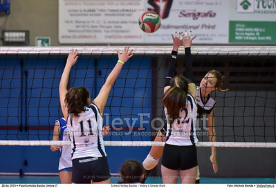 School Volley Bastia - Volley 4 Strade Rieti 7º Trofeo Nazionale Under 16 Femminile - 5º Memorial Tomasso Sulpizi.  PalaGiontella Bastia Umbra PG, 28 Dicembre 2015. FOTO: Michele Benda © 2015 Volleyfoto.it, all rights reserved [id:20151228.MB2_2266]