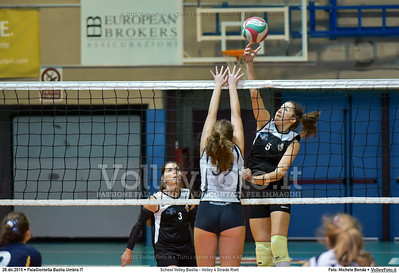 School Volley Bastia - Volley 4 Strade Rieti 7º Trofeo Nazionale Under 16 Femminile - 5º Memorial Tomasso Sulpizi.  PalaGiontella Bastia Umbra PG, 28 Dicembre 2015. FOTO: Michele Benda © 2015 Volleyfoto.it, all rights reserved [id:20151228.MB2_2245]