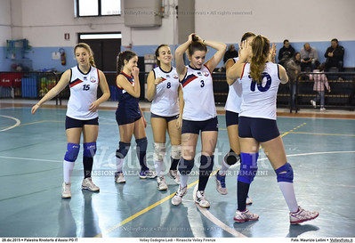 Volley Codogno Lodi - Rinascita Volley Firenze Qualificazioni Girone B • 7º Trofeo Nazionale Under 16 Femminile / 5º Memorial Tomasso Sulpizi.  Palestra Rivotorto d'Assisi PG, 28 Dicembre 2015. FOTO: Maurizio Lollini © 2015 Volleyfoto.it, all rights reserved [id:20151228.DSC_2688]