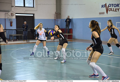 Volley Codogno Lodi - Rinascita Volley Firenze Qualificazioni Girone B • 7º Trofeo Nazionale Under 16 Femminile / 5º Memorial Tomasso Sulpizi.  Palestra Rivotorto d'Assisi PG, 28 Dicembre 2015. FOTO: Maurizio Lollini © 2015 Volleyfoto.it, all rights reserved [id:20151228.DSC_2691]