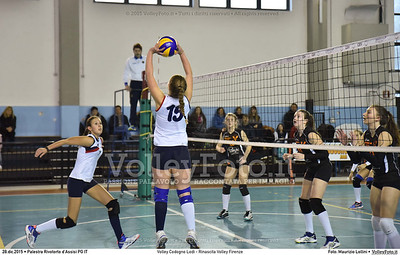 Volley Codogno Lodi - Rinascita Volley Firenze Qualificazioni Girone B • 7º Trofeo Nazionale Under 16 Femminile / 5º Memorial Tomasso Sulpizi.  Palestra Rivotorto d'Assisi PG, 28 Dicembre 2015. FOTO: Maurizio Lollini © 2015 Volleyfoto.it, all rights reserved [id:20151228.DSC_2758]