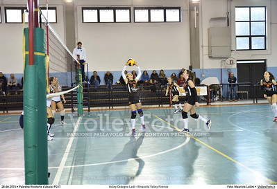 Volley Codogno Lodi - Rinascita Volley Firenze Qualificazioni Girone B • 7º Trofeo Nazionale Under 16 Femminile / 5º Memorial Tomasso Sulpizi.  Palestra Rivotorto d'Assisi PG, 28 Dicembre 2015. FOTO: Maurizio Lollini © 2015 Volleyfoto.it, all rights reserved [id:20151228.DSC_2718]