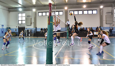 Volley Codogno Lodi - Rinascita Volley Firenze Qualificazioni Girone B • 7º Trofeo Nazionale Under 16 Femminile / 5º Memorial Tomasso Sulpizi.  Palestra Rivotorto d'Assisi PG, 28 Dicembre 2015. FOTO: Maurizio Lollini © 2015 Volleyfoto.it, all rights reserved [id:20151228.DSC_2744]