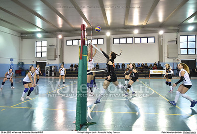 Volley Codogno Lodi - Rinascita Volley Firenze Qualificazioni Girone B • 7º Trofeo Nazionale Under 16 Femminile / 5º Memorial Tomasso Sulpizi.  Palestra Rivotorto d'Assisi PG, 28 Dicembre 2015. FOTO: Maurizio Lollini © 2015 Volleyfoto.it, all rights reserved [id:20151228.DSC_2715]